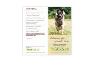 GFVS Flyer für Tiere