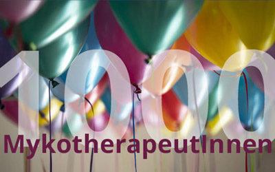 Wir feiern unseren 1000-sten Mykotherapeuten